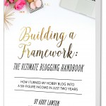 Building a Framework book