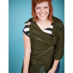 Whirlwind crochet wrap