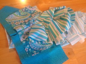 Fabric for my tops secret sewing project!