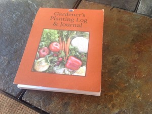 Gardener's Planting Log and Journal - a $5 impulse purchase!