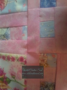 Mismatched seams on quilt