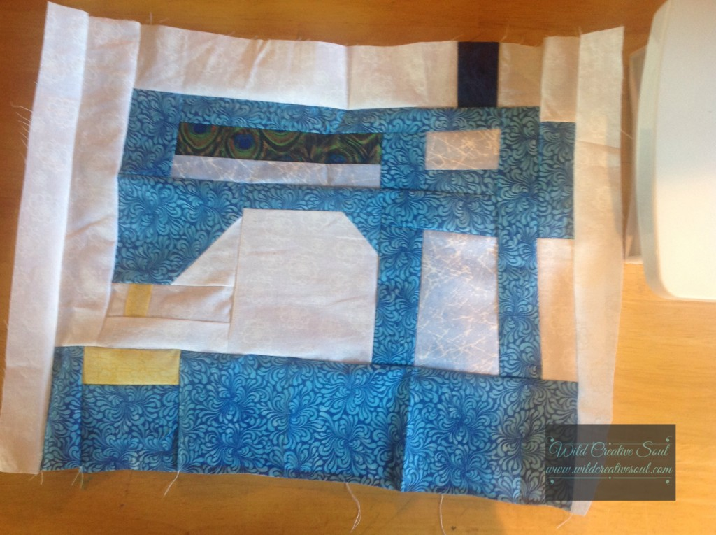 Block 2 for my Snapshots Quilt Along
