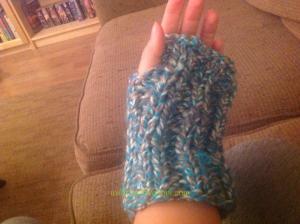 Knitted Fingerless Glove
