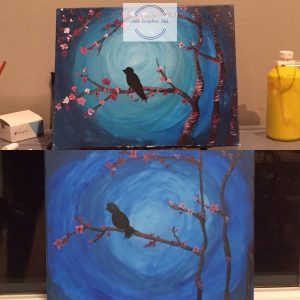 Painting from a paint night