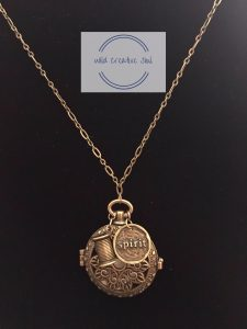 Locket style necklace